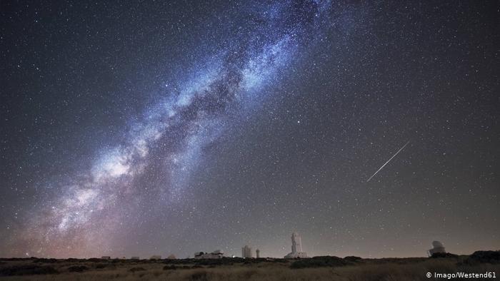 1.Immer seltener zu sehen: Ein sternenklarer Himmel