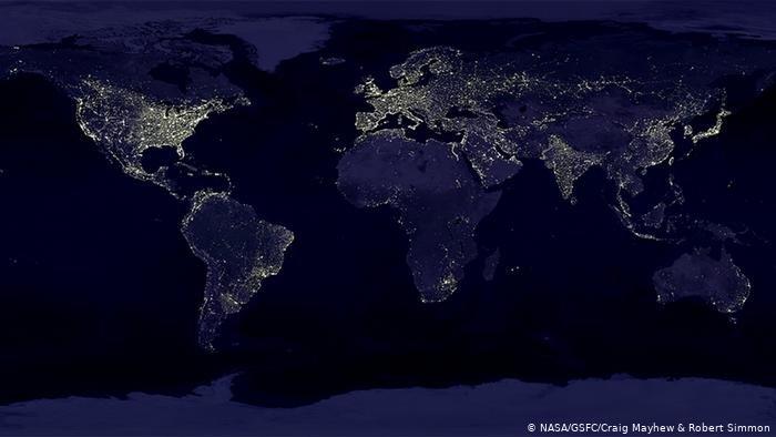 7.Beziehung zwischen Licht und volkswirtschaftlicher Leistung