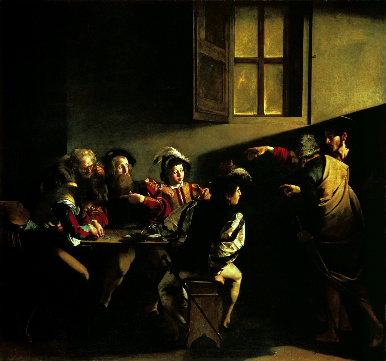 Berufung des Hl. Matthäus (1600), San Luigi dei Francesi, Rom