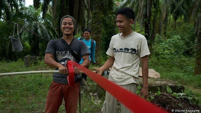 Mit Begeisterung bei der Sache - Der Regenwald ruft SOS