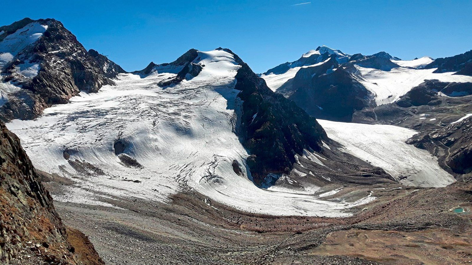 Gletscherskigebiet