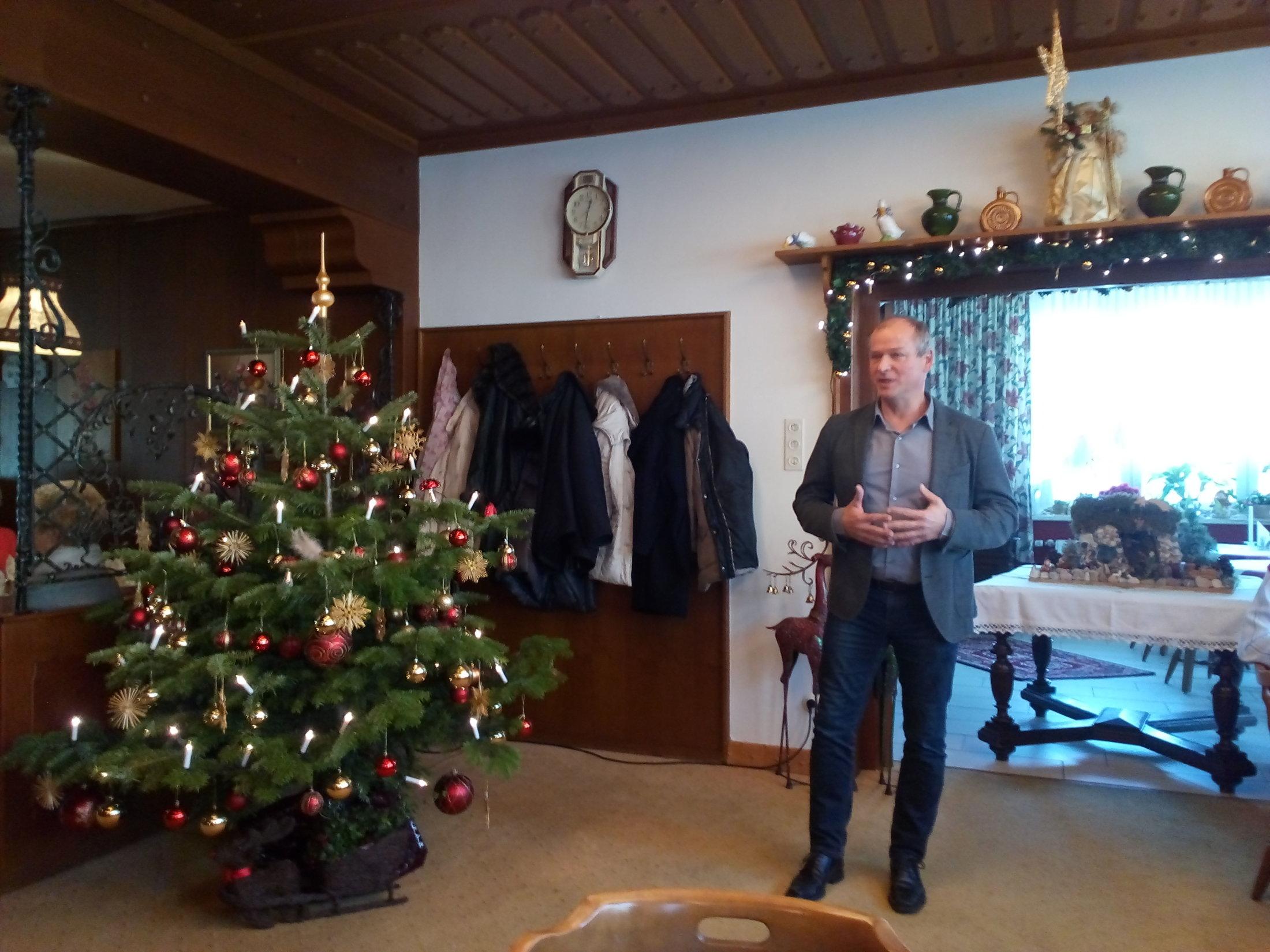 Weihnachtfeier des Seniorenbundes Velden, 14.12.2017