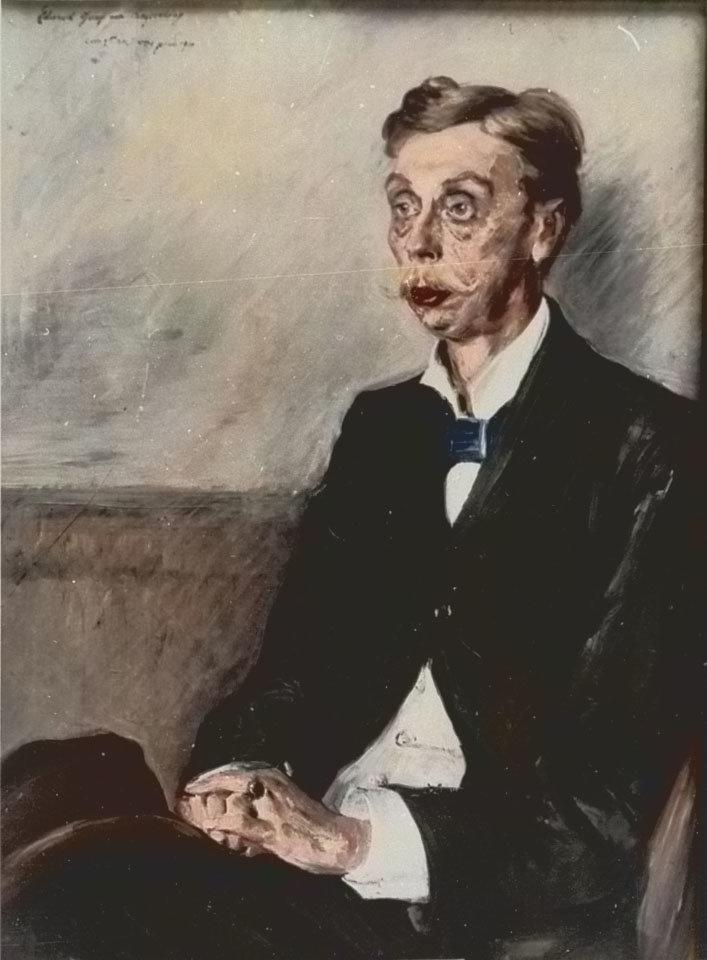 Lovis Corinth - Eduard Von Keyserling
