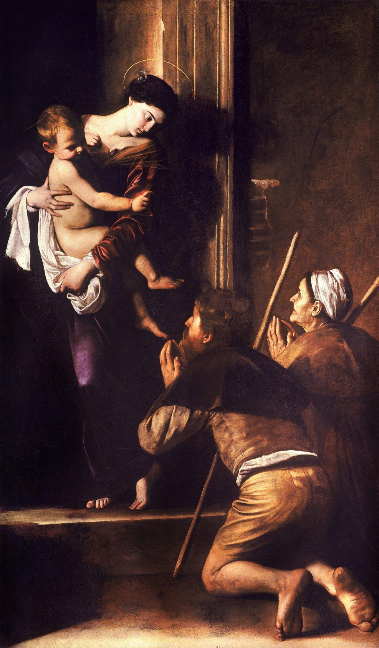 Madonna Di Loreto-Caravaggio (c.1604-6)