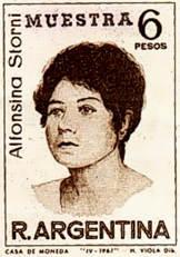 Storni Briefmarke