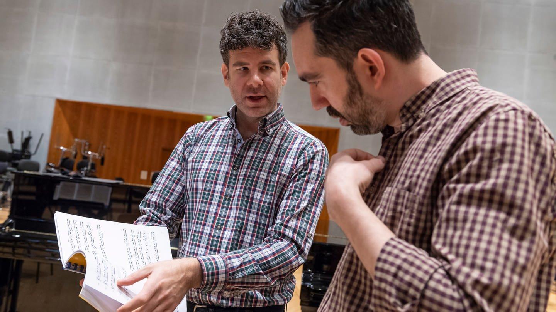 Ensembleleiter Johannes Pramsohler und Cembalist Philippe Grisvard im Dialog über den letzten musikalischen Schliff